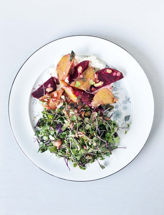 Slow Roasted Beets Shit