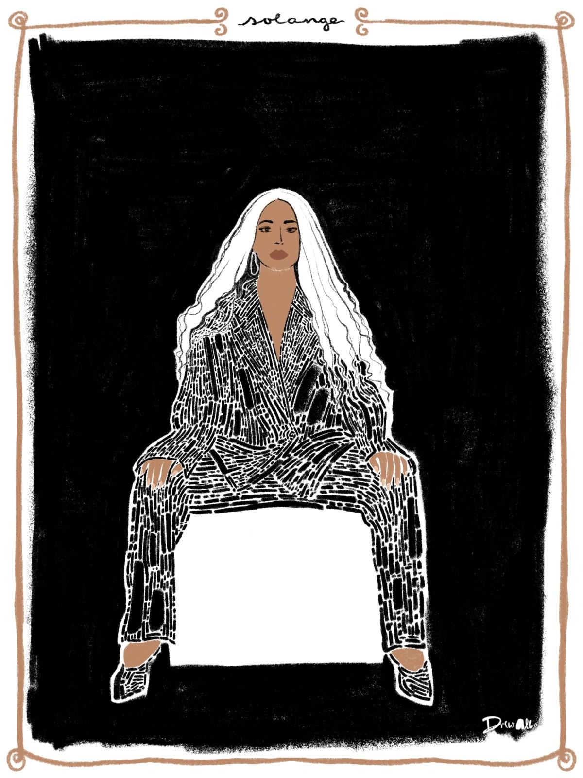 Solange on Black